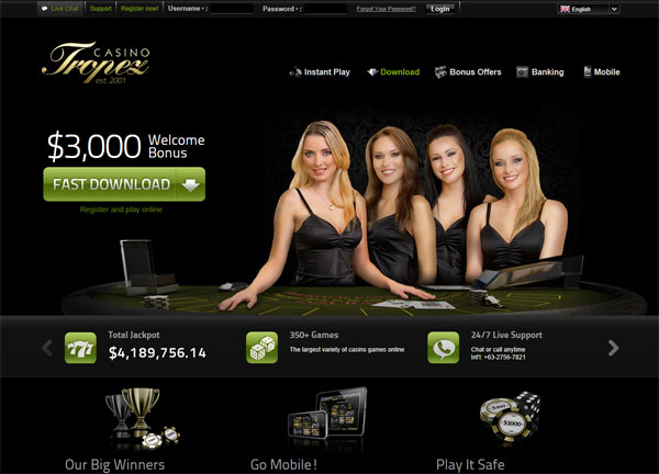 New Online Casino Design