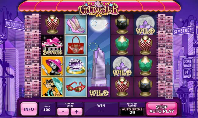 Catwalk Video Slot