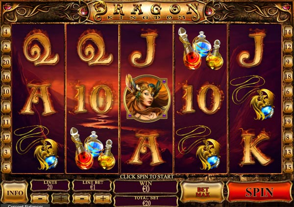 Dragon Kingdom video slot