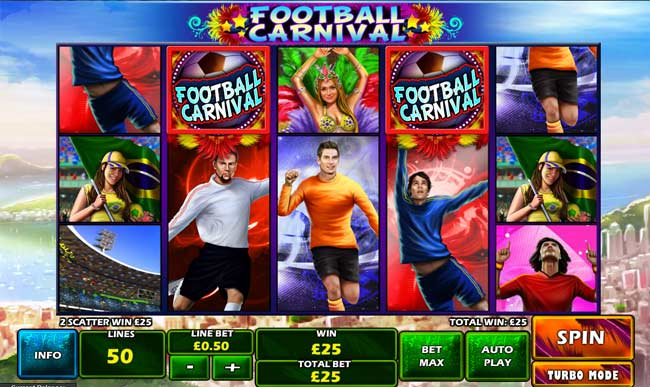 football carnival online slot