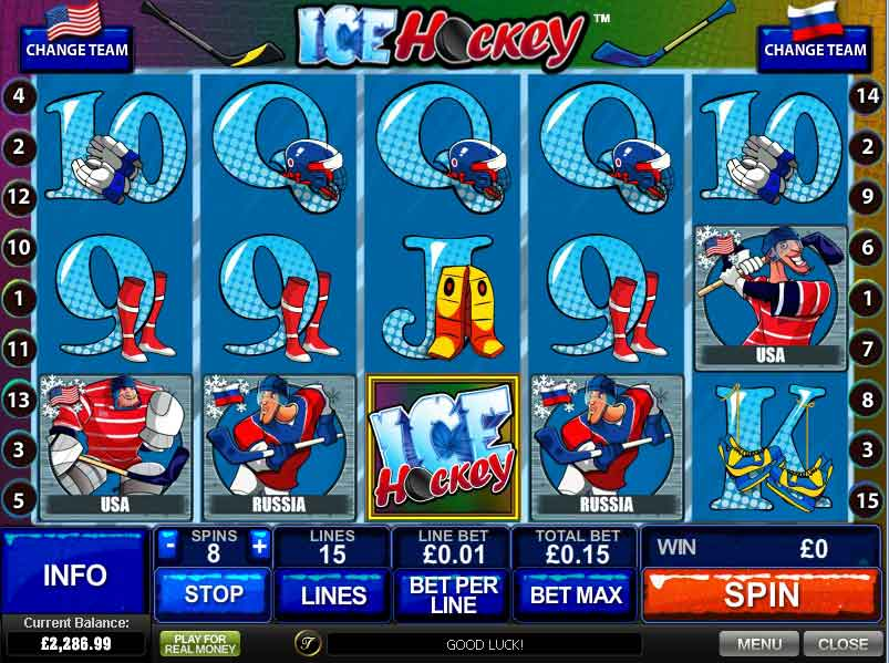 Ice Hockey Slots