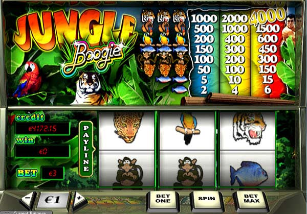 Jungle Boogie - Slots