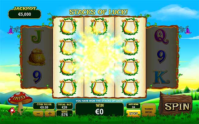 land of gold online slots game