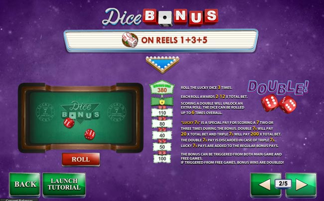 bonus dice game