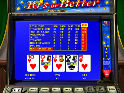 10's or Better - Video Poker