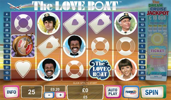 the love boat slot game